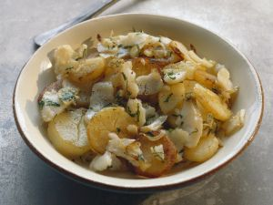 Bratkartoffel-Kabeljau-Pfanne Rezept
