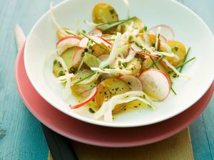 Bratkartoffel-Kohlsalat Rezept