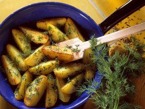 Bratkartoffeln mit Dill Rezept