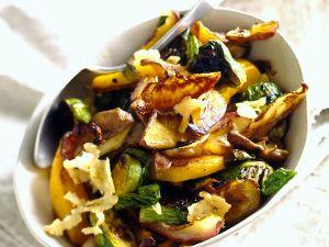 Bratkartoffeln mit Gemüse Rezept