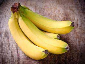 Braune Bananen verwenden