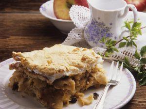 Brötchen-Apfelauflauf Rezept