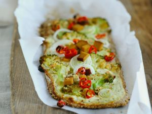 Brokkoli-Brotfladen Rezept
