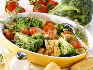 Brokkoli-Gemüse-Gratin Rezept