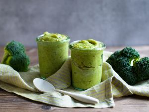 Brokkoli-Kartoffel-Lachs-Brei Rezept