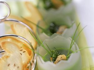 Brokkolisuppe mit Cracker Rezept