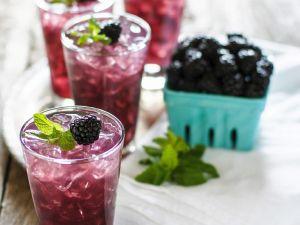 Brombeer-Wodkadrink Rezept