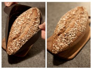 Brot backen mit der Brotbackform
