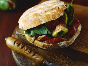 Brot-Sandwich mit Ente und Feigen Rezept