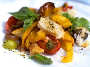 Brotsalat nach italienischer Art Rezept