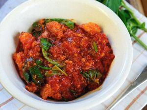 Brotsuppe mit Tomaten Rezept