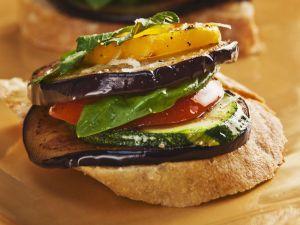 Bruschetta mit Antipasti-Gemüse Rezept