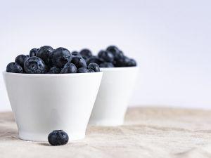 Budwig Creme mit Blaubeeren und Walnüssen Rezept