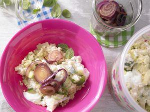 Bulgur-Fenchel-Salat mit Minze Rezept