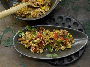 Bulgur-Gemüse-Pilaw Rezept