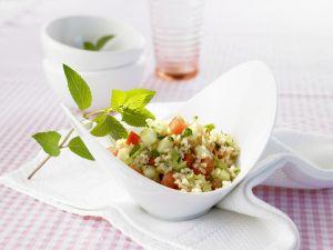 Bulgur-Gemüse-Salat Rezept