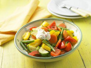Bunte Gemüsepfanne Rezept