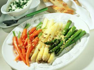Bunte Gemüseplatte Rezept