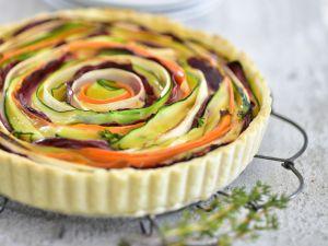 Vegane Gemüsequiche Rezept