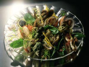 Bunte Muschel- und Schneckenplatte Rezept