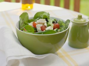 Bunter Salat mit Gemüse Rezept