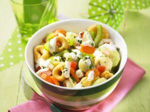 Bunter Tortellini-Salat Rezept