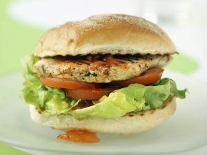Burger mit Hähnchen Rezept