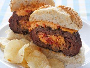 Burger mit Käsecreme Rezept
