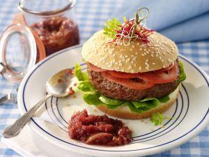 Burger mit Relish Rezept