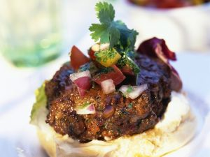 Burger mit Salsa Rezept