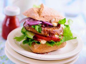Burger mit Tofu Rezept
