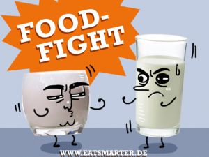 Food Fight: Kefir vs. Buttermilch!