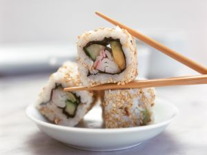 California-Roll Sushi Rezept