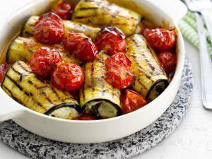 Canelloni aus Auberginen und Tofu Rezept
