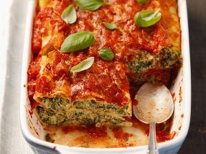 Cannelloni-Auflauf Rezept
