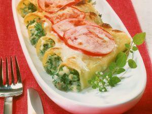 Cannelloni mit Fischfüllung Rezept