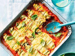 Cannelloni mit Ricotta, Spinat und Zucchini Rezept