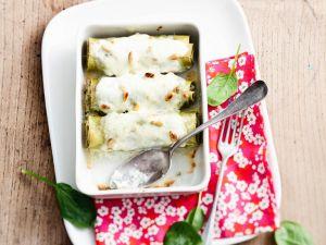 Cannelloni mit Spinat und Mozzarella Rezept