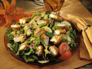 Cesar Salad mit Hähnchen Rezept