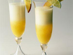 Champagner-Obstcocktail Rezept