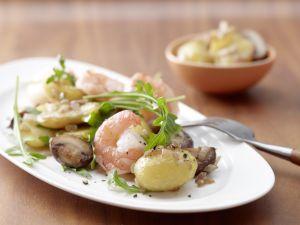 Champignon-Kartoffeln Rezept