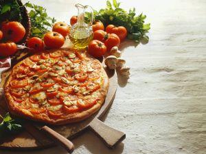 Champignon-Pizza Rezept