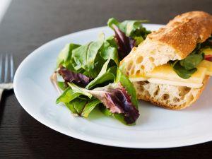 Cheddar-Sandwiche mit Apfel Rezept