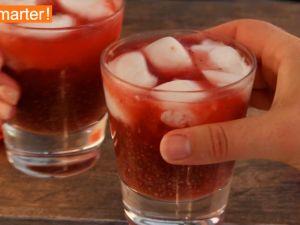 Chia-Himbeer Limonade Rezept