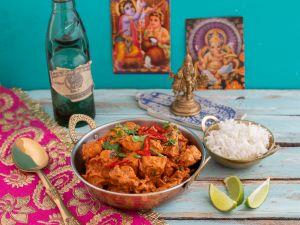Chicken Tikka Masala mit Basmati-Reis Rezept