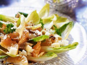 Chicorée-Zitrus-Salat Rezept