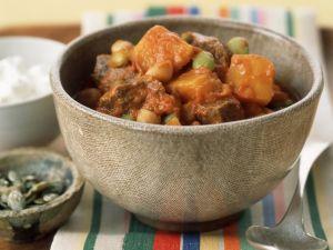 Chili mit Rindfleisch und Wintergemüse Rezept