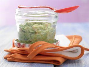 Chinakohl-Brei mit Lachs Rezept