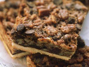 Chocolatechip-Schnitten Rezept