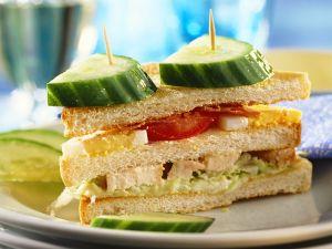 club sandwich rezept eat smarter. Black Bedroom Furniture Sets. Home Design Ideas